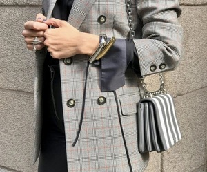 blazer, fashion, and Prada image