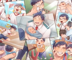 anime, kawaii, and boku no hero academia image