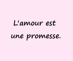 amour, french, and mots image