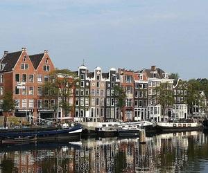 amsterdam, beautiful, and boat image