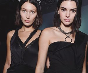 bella hadid, kendall jenner, and model image