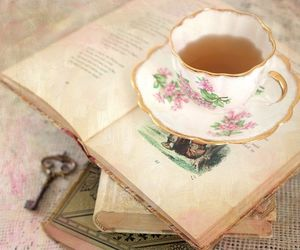 teacup and vintage image