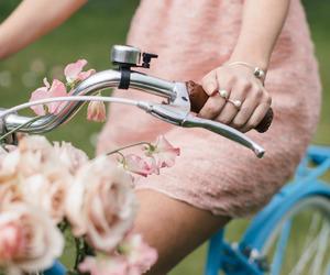femininity, flowers, and girl image