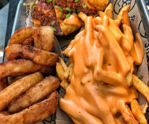 food and love image