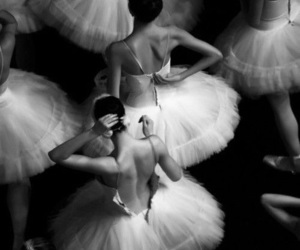 ballet, dance, and black & white image