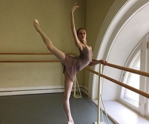 attitude, ballet, and rehearsal image