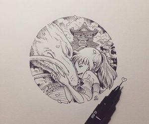 anime, fanart, and spirited away image