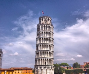 italy, leaning, and Pisa image