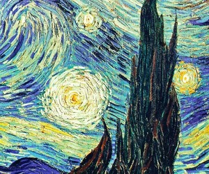 picture, sky, and van gogh image