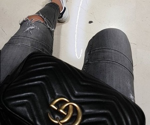 bag, clothes, and luxury image