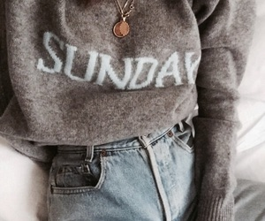 fashion, Sunday, and style image