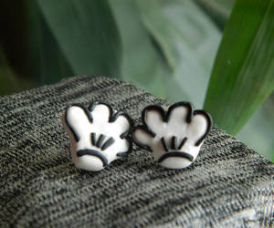 etsy, disney jewelry, and mouse earrings image