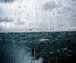 rain, sea, and water image