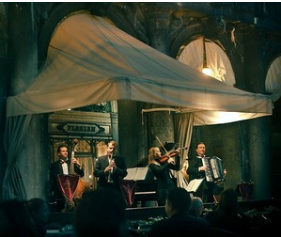 italy, venice, and concert image