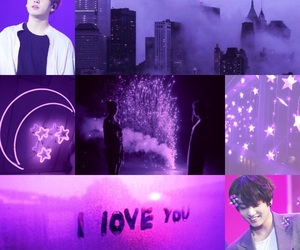 aesthetic, purple, and bts image