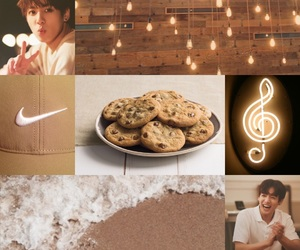 aesthetic, brown, and bts image