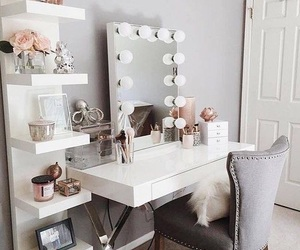 room, makeup, and home image