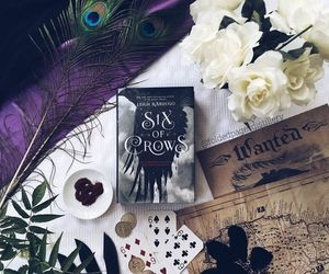 book and six of crows image