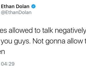 ethan, dolan, and tweet image