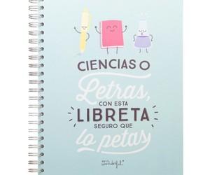 bonito, material escolar, and libreta image
