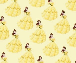 background, belle, and disney image