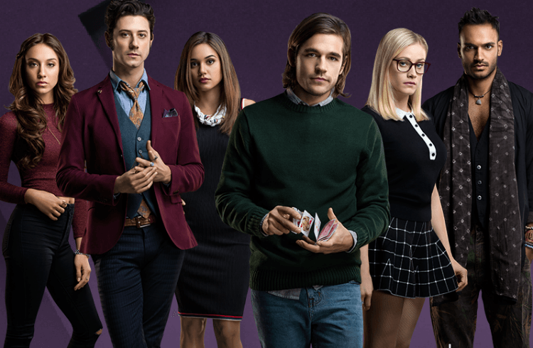 summer bishil, hale appleman, and the magicians image