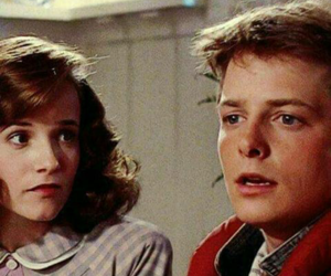 Back to the Future and michael j fox image