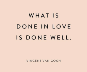 quotes, love, and vincent van gogh image