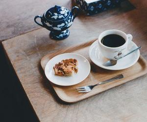 food, coffee, and sweet image