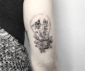 light bulb tattoo image