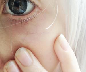 pale, eye, and girl image