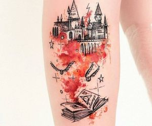harry potter tattoo image