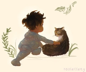 harry potter and baby harry image