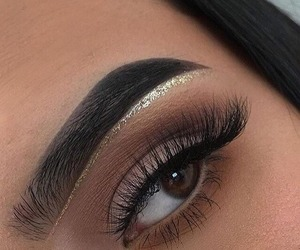 eye, hair, and makeup image
