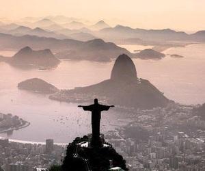 city, beautiful, and rio de janeiro image