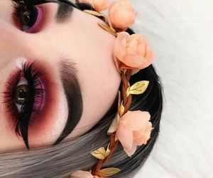 flower, flower crown, and inspiration image
