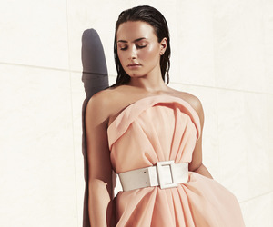 demi lovato, beauty, and dress image