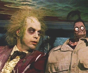beetlejuice, joker, and batman image