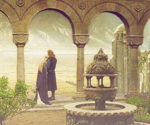 eowyn, the lord of the rings, and faramir image
