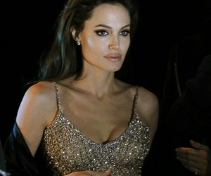 Angelina Jolie and dress image