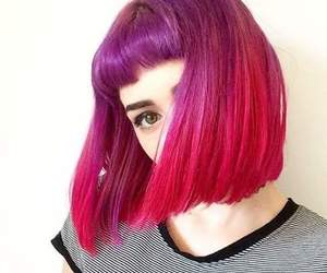 colorful, cool, and hair image