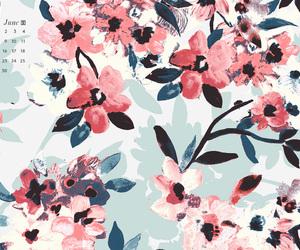 background, desktop, and floral image