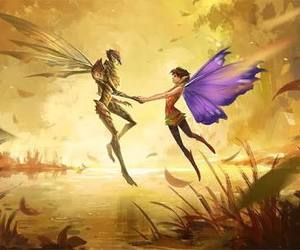 strange magic, love, and bog king image