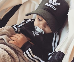 baby, adidas, and cute image