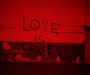 love, cruel, and grunge image