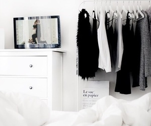 bedroom, clothes, and goals image