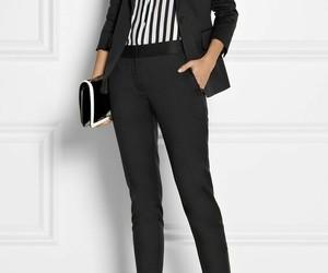 black, working, and heels image