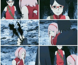 anime, uchihafamily, and harunosakura image