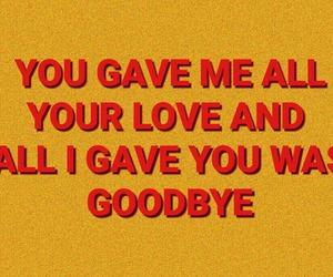 goodbye, indie, and Lyrics image