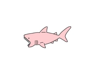 shark, wallpaper, and pink image